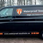 Waterproof hemsida